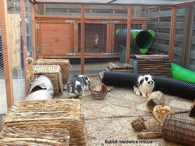 Uitgelezene Maten konijnenhok/kooi - dierenvangnet.nl RG-85