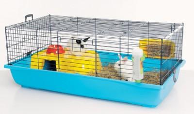 Onwijs Maten konijnenhok/kooi - dierenvangnet.nl ZY-46