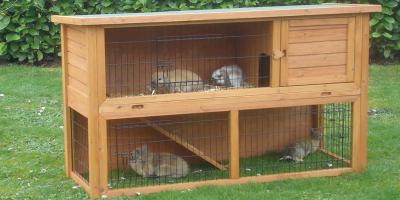 Welp Maten konijnenhok/kooi - dierenvangnet.nl EZ-32
